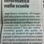 articolo sul Giornale di Sicilia su Startup Plus